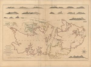 A Draught of Falklnads Islands 1770