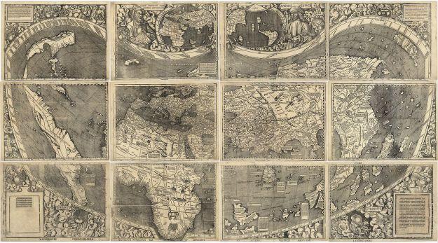1507 Waldseemuller map
