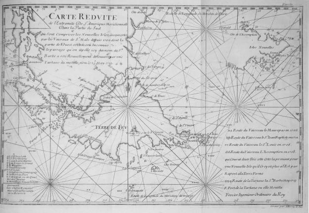 1715 Amédée-François Frézier published 1717