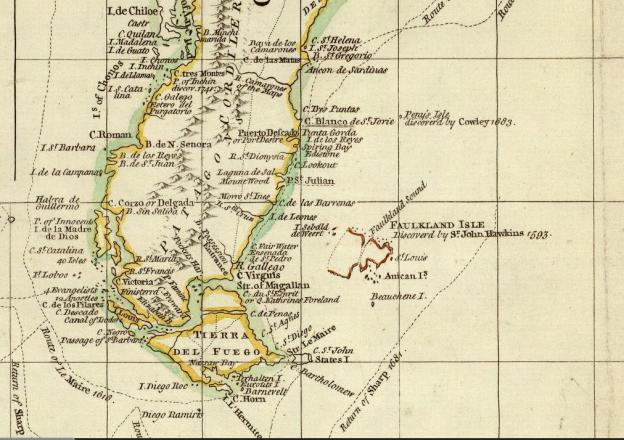1753 John Green Map detail