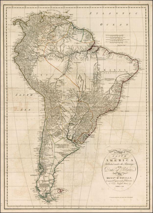 1791 D'Anville