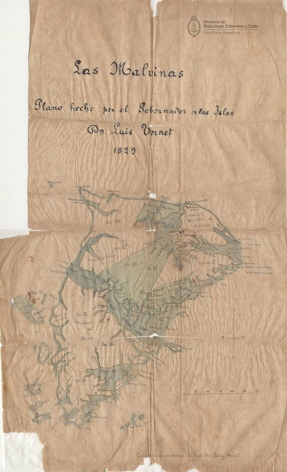 1829 Vernet map