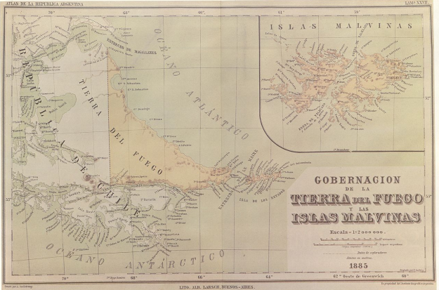 1885 Seelstrang Map (referred to by Groussec)