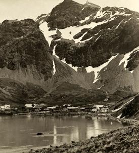 King Edward Cove, Grytviken, Cumberland Bay, South Georgia, 1922