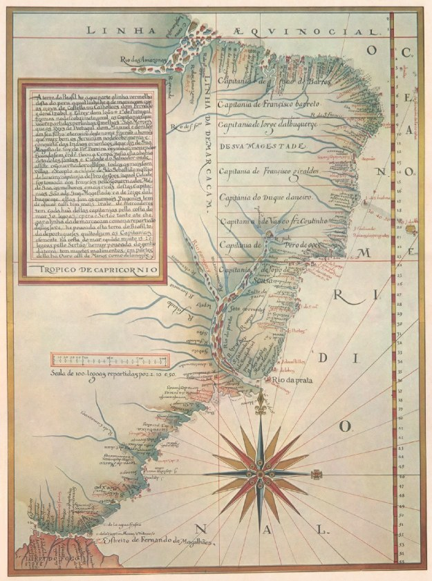 1524 Capatanias Hereditarias by Luiz Teixeira (Portuguese)