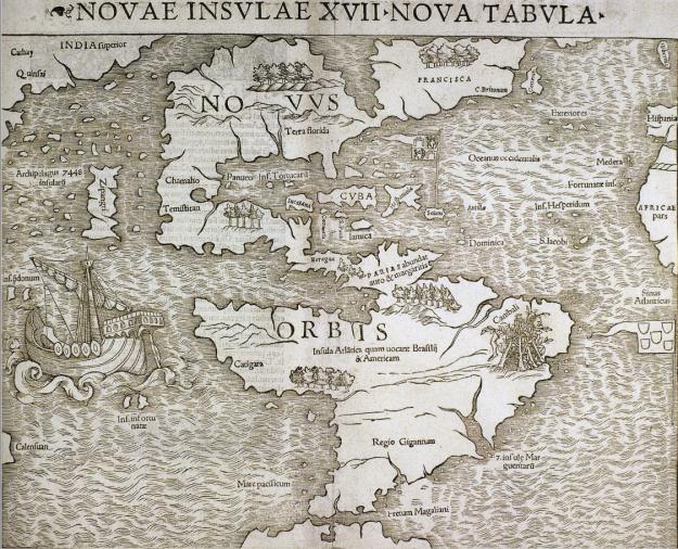 1540 Nova Insulae XVIII Nova Tabula