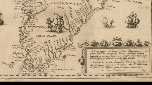 1602 Brevis & admiranda descriptio regni Guianae, auri abundantissimi, in America (Hulsius)