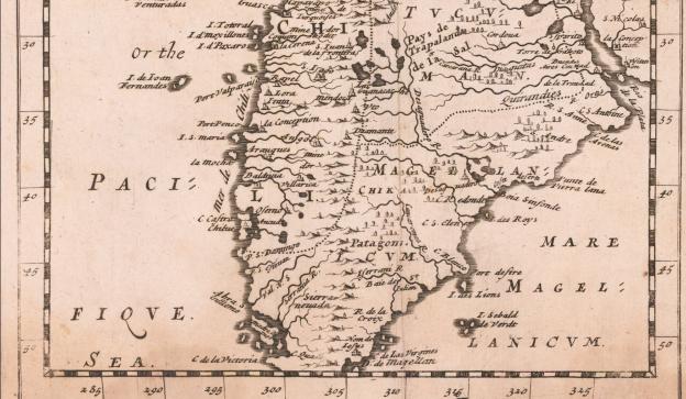 1681 Jonas Moore (London) (detail)
