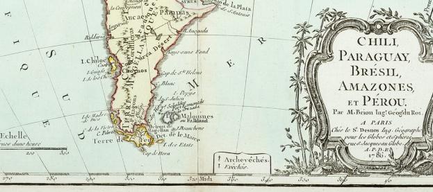 1786 published Paris (Louis Brion de la Tour)