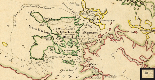 Detail from Carrington-Bowles 1770