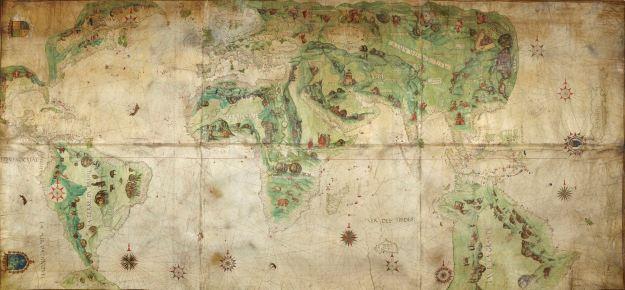 Harleian Mapamonde c.1536